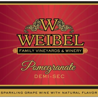 Weibel pomegranate label