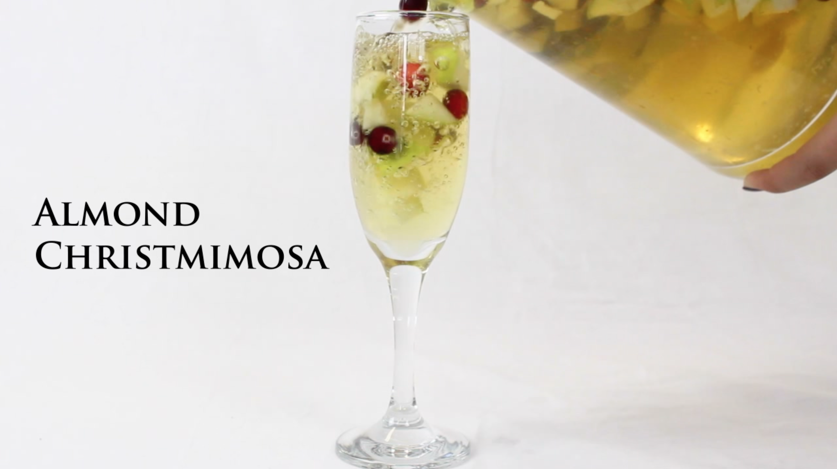 Almond Christmimosa